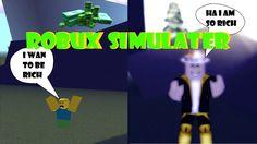 Robux Simulator (Roblox) Roblox Gameplay, I Wan, Content, Videos, Music, Youtube, Musica, Musik, Muziek