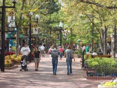 city of boulder colorado - downtown