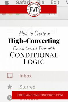 How to Create a High-Converting Custom Contact Form with Conditional Logic