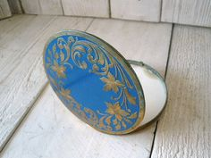 Vintage Compact - Art Nouveau by A Velvet Leaf on Etsy $35.00 PDX Etsy