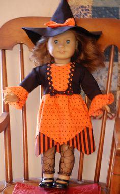 Amerikanisches Mädchen Hexenkostüm von DollysWardrobe auf Etsy