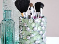 Creative in Chicago: a decorating blog: Bling Storage for the Bathroom
