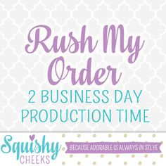 2-Business Day Production Rush