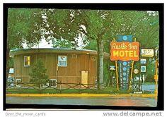 Williston, ND, Rustle Inn Motel 1950s Postcard - Delcampe.net