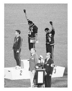 1968 Olympics - Black Power (11x14) - ETH60003