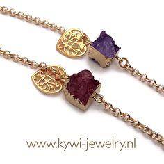 Bracelet LOT® Druzy Quartz