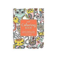 Posh Adult Coloring Book: Cats & Kittens for Comfort & Creativity