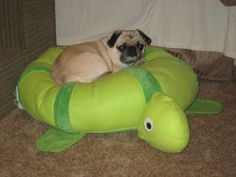 Bumpidoodle floor cushion: Toby Turtle #bumpidoodle (Dogs love them too!)