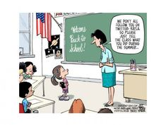 "Cute ""back to school"" cartoon"