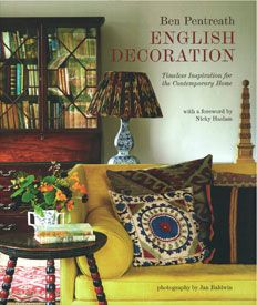 English Decoration by Ben Pentreath £30 In English Decoration we see houses never been previously photographed, including Ben's own homes in London and West Dorset, alongside those of Earls and artists, writers and architects, book designers and gardeners. The book is arranged room by room where Entrance Halls, Living Rooms, Kitchens and Dining Rooms, Bedrooms and Bathrooms are considered in turn, together with simple Rooms of Utility and spectacular Rooms of Display.
