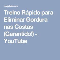 Treino Rápido para Eliminar Gordura nas Costas (Garantido!) - YouTube