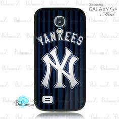 MLB New York Yankees Team Logo NY Yankees Samsung Galaxy S4 Mini Case | Bahamaz - Accessories on ArtFire