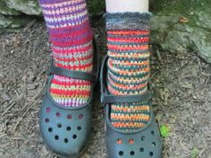 knit pattern  balance rock socks  toe up slip by anastaciaknits, $5.00