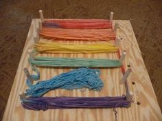 Self-Striping Yarn (with a Warping Board) Tutorial - FIBER ARTS