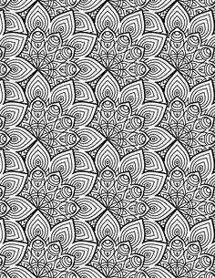 Mandala free coloring to print Pattern Coloring Pages, Printable Adult Coloring Pages, Mandala Coloring Pages, Coloring Book Pages, Mandala Art, Mandala Pattern, Free Coloring, Cool Drawings, Sudoku