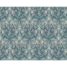 Boråstapeter Tapet In Bloom Thistle 7204 Bloom, Tapestry, Curtains, Shower, Wallpaper, Rum, Prints, Home Decor, Hanging Tapestry