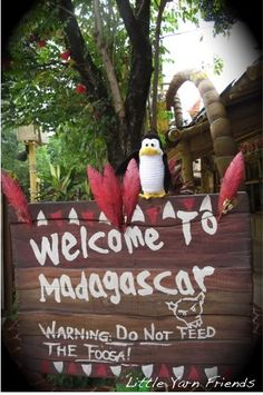 Lil' Kowalski (Penguins of Madagascar) - Event decoration ideas to enhance your outdoor movie night event by Southern Outdoor Cinema