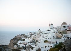 Village of Oia in Santorini Greece | photography by http://www.cinziabruschini.it