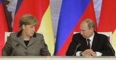 Στη Μόσχα η Μέρκελ για συνάντηση με τον Πούτιν