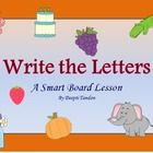 Teach alphabets the smart way! This lesson will help Pre-K and Kindergarten teachers who have smart boards in their classrooms. It's cute, easy, fu...