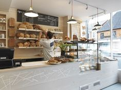 Bread, sweets bar - samples -Two Magpies Bakery by Paul Crofts Studio