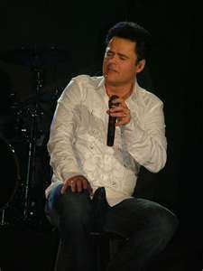 So techinally I've only seen Donny Osmond with Jim Brickman, and once as Joseph... but I still felt like I needed to include him on the list.
