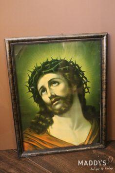 Jezus met doornenkroon