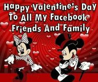 Happy Valentines Day Facebook Friends And Family