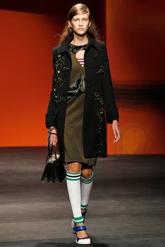 Paulina King Prada Spring 2014 Ready-to-Wear Collection Slideshow on Style.com