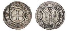 NumisBids: Numismatica Varesi s.a.s. Auction 67, Lot 146 : ANCONA REPUBBLICA (XIII-XIV Sec.) Grosso. D/ Croce R/ San...