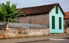 (Un9forgotten coffee lands Shed, Outdoor Structures, Cabin, Explore, Coffee, House Styles, Home Decor, Kaffee, Decoration Home