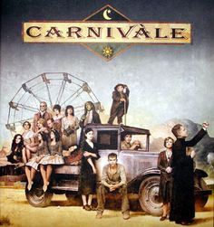 Carnivale.  Creepy, but good.