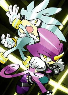 Who is more epic and awesome to you: Espio the Chameleon OR Silver the Hedgehog?