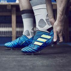 Adidas Nemeziz 17 360Agility - Discount 2017 Adidas Nemeziz 17 360Agility  Blue Black White Football Boots c339745b653