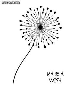 thumbprint dandelion kid craft w free printable bloggers fun