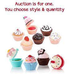 One U Pick Cupcake Lip Gloss Cupcake Lover Baker Party Favors | eBay