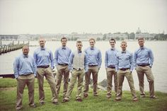 Beige slacks for the GM, add a vest for the groom? « Weddingbee Boards