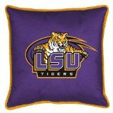 !@Best Buy LSU Fighting Tigers Sideline Pillow (18x18) NCAA    Price: $40.00    .Check Price >> http://OUTLET9.COM/dorm-bedding/Best-Buy-LSUFightingTigersSidelinePillow18x18NCAA-B00245H6BU.html