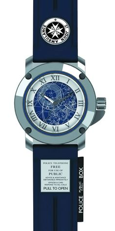Doctor Who TARDIS Collector's Watch