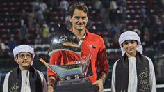Federer wins 6th Dubai Championships title #RogerFederer #tennis