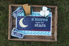 How To Throw a Stargazer Party with party supplies from @shindigz over on Craft That Party