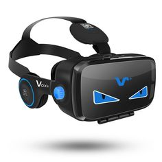 VOX+ FE VR Headset-3D MOVIE And Game Virtual Reality Headset With Headphones, Play at Samsung Galaxy Series And Iphone 6s Series-2017 dustproof edition. VOX+ FE VR headset has a built-in retractable earphones,One-key for answering and pause, sliding the volume roller,volume up and down.Answering smartphones and pause by single press. UNPARALLELED QUALITY-Taking use of rubber paint spraying, VOX+ FE shows off matte finishes. Soft and stain-resistant color, delicate touch, elegant…