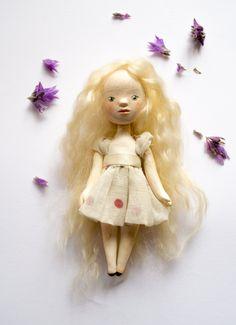 Anna, original art doll with box- OOAK art doll