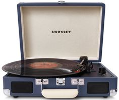 Amazon.com: Crosley CR8005A-RE Cruiser Portable 3-Speed Turntable (Red): Electronics