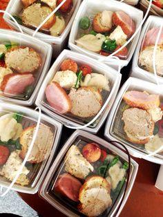 Bistro cosicosi♡ ケータリング( ¨̮͚ )ランチボックス  ⋈前菜5種盛り合わせ ⋈2種のショートパスタ  #ビストロコジコジ #Lunch Box