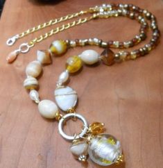 Excited to share the latest addition to my #etsy shop: Casual Lampwork Bead and Pearl Mix Necklace-Lampwork Jewelry -Beaded Necklace-Venetian Murano Glass-Handmade Jewelry http://etsy.me/2D2gr6r #jewelry #necklace #silver #birthday #bronze #christmas #glass #lobstercla