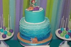Ariel the Little Mermaid Inspired 8th Birthday  | CatchMyParty.com