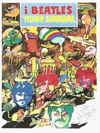 "Check out WWW.ALLAUTOGRAPH.COM for This is an Original movie poster of the "" Yellow Submarine"" Hand Signed by Paul McCartney, John Lennon"