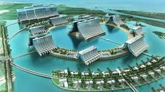 Developers of the Aquis casino resort in Queensland say it does not need environmental assessment and is no danger to the Great Barrier Reef. Hong Kong, Resort Plan, Casino Bet, Cairns Australia, Cairns Queensland, Hotel Transylvania, Cheap Hotels, Great Barrier Reef, Tourism