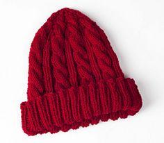 Ravelry: Bonnie's Cable Hat pattern by Bonnie Jacobs